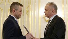 Slovenská sněmovna odmítla opoziční návrh na předčasné volby