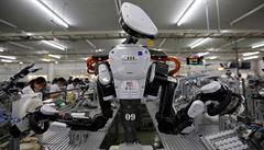 Japonsko má málo pracovníků, upřednostňuje roboty před cizinci
