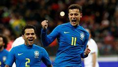 Kanárci se cítí v dějišti mistrovství světa jako doma. Brazilci hladce zdolali Rusy