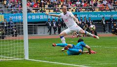 Po mizerném úvodu přišla druhé půle snů. Čeští fotbalisté smetli domácí Čínu 4:1