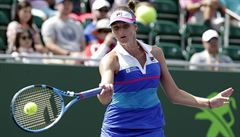 Česká jednička Karolína Plíšková je ve čtvrtfinále turnaje Masters v Miami