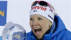Rozlučka, nebo pokračovat? Mäkäräinenová váhá: Teď se hlavně těším na velkou párty