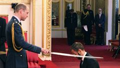 Sir Ringo. Britský princ William povýšil bubeníka Beatles do šlechtického stavu