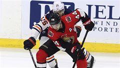 NHL: Chlapík poprvé skóroval v NHL, gól vstřelil také Voráček