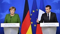 MACHÁČEK: Macron a Merkelová dnes v Berlíně