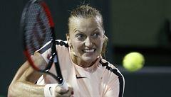 Kvitová v Miami nestačila na Ostapenkovou, Berdycha zpomalil déšť