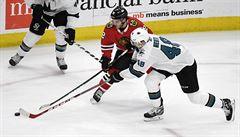 NHL: Chytil si připsal první bod, Hertl pomohl gólem k výhře San Jose