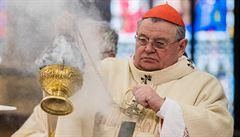 Pražský arcibiskup Duka se dožívá 75 let. Do Vatikánu odeslal svou rezignaci
