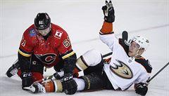 NHL: Kaše se po měsíci trefil. Pomohl tak Anaheimu k výhře v Calgary