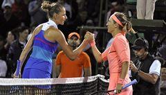 Plíšková vypadla ve čtvrtfinále v Miami s Běloruskou Azarenkovou