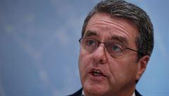 Šéf WTO Azevedo na konci srpna předčasně opustí svou funkci, krok označil jako 'rodinné rozhodnutí'