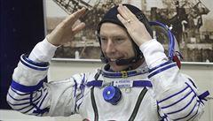 Obrázky z Terezína ve vesmíru. Z Bajkonoru je na ISS dovezl americký kosmonaut