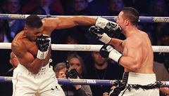 Na boxerském trůnu usedl Joshua. V parádní bitvě přeboxoval na body Parkera