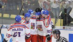 V prvním přípravném duelu před MS porazili čeští hokejisté 5:2 Švýcarsko