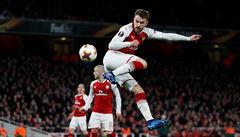 VIDEO Geniálnější gól než Ronaldovy nůžky? Arsenal vyhrál i díky úžasné trefě Ramseyho