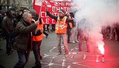 Francouzská policie chce požívat označovací spreje proti vandalům