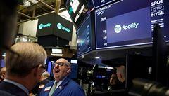 Služba Spotify vstoupila na akciový trh, podnik byl ohodnocen na více než 600 miliard korun