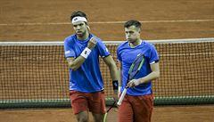 Čeští tenisté postoupili do baráže Davis Cupu. Izraelce porazili i ve čtyřhře