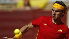 Nadal je novým rekordmanem Davis Cupu. Vyhrál 23. zápas v řadě