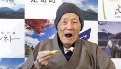 Nejstarším mužem planety je 112letý Japonec Masazo Nonaka