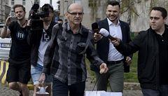 Soudce Elischer stíhaný za ovlivnění kauz byl propuštěn z vazby