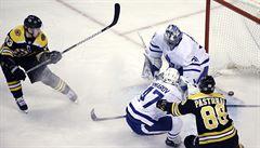 NHL: Krejčí a Pastrňák přispěli k výhře Bostonu, Palát k triumfu Tampy