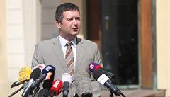 Hamáček o Pochem se Zemanem nemluvil, o vedení ministerstva rozhodne ČSSD za měsíc