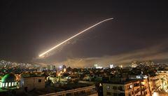 Sýrie sestřelila izraelské rakety nad svým územím, údajně mířily proti letecké základně