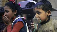 Asad chemické zbraně používá v psychologickém boji. Rusové zabili už tisíce civilistů, říká český armádní expert