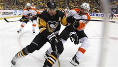 NHL: Philadelphie se v play-off oklepala z debaklu. K výhře přispěl i Voráček