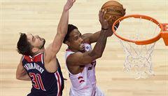 NBA: Basketbalisté Washingtonu neuspěli na úvod play off v Torontu