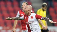 Slavia - Karviná 3:2, mistr se přiblížil Plzni, dva góly dal Stoch