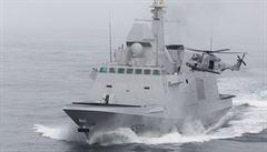 Napětí u pobřeží Sýrie houstne. Nad francouzskou lodí přelétaly ruské stíhačky