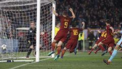 Senzační obrat v Lize mistrů, AS Řím porazilo Barcelonu 3:0 a je v semifinále