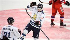 Další nepovedený duel. Čeští hokejisté nestačili na Finy a Euro Hockey Tour nevyhrají