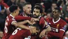 Liverpool smetl AS. Kanonádu načal dvěma góly exřímský kanonýr Salah