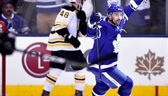 NHL: Toronto i díky Plekancově gólu a nahrávce srovnalo sérii s Bostonem