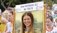 Nosorožec, Mona Lisa nebo ucho. Kostýmy na londýnském maratonu nechyběly i přes zákaz
