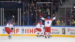 Senzační výhra. Hokejová osmnáctka ve čtvrtfinále MS zaskočila Kanadu