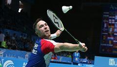 Adam Mendrek se na ME v badmintonu utkal s mistrem světa. 'Měl prostě všechno'