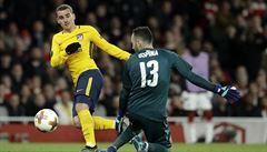 Zoufalý Arsenal. V semifinále Evropské ligy neudržel vedení s oslabeným Atlétikem