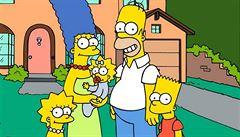 Simpsonovi se objeví na známkách