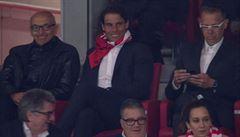 Nadal fandil Atlétiku, byť jeho oblíbeným klubem je Real. A fanoušci stále zuří