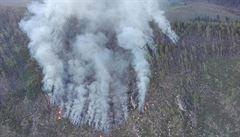 Požár ve Vysokých Tatrách je pod kontrolou, informovali slovenští hasiči