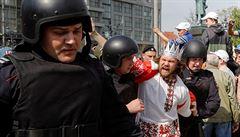 Napříč Ruskem lidé protestují proti Vladimiru Putinovi, opoziční vůdce Alexej Navalnyj byl zatčen