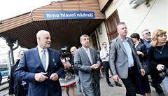 Nové brněnské nádraží se zdá Babišovi drahé, chce další informace