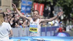 Pražský maraton vyhrál bronzový medailista z OH v Riu Američan Galen Rupp
