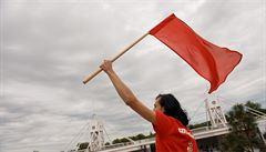 'Ještě žijeme!' Kandidátku komunistů vedou mladí, zkušení matadoři se propadli