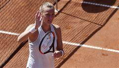 Kvitová nadělila Číňance Čang Šuaj v semifinále kanára, Peschkeová obhájila titul ze čtyřhry