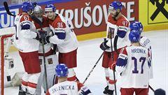 Čeští hokejisté splnili na MS povinnost. Bělorusy zdolali s přehledem 3:0